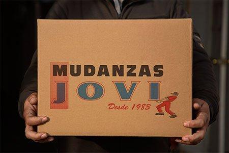 Cajas de cartón para embalaje de mudanzas Jovi