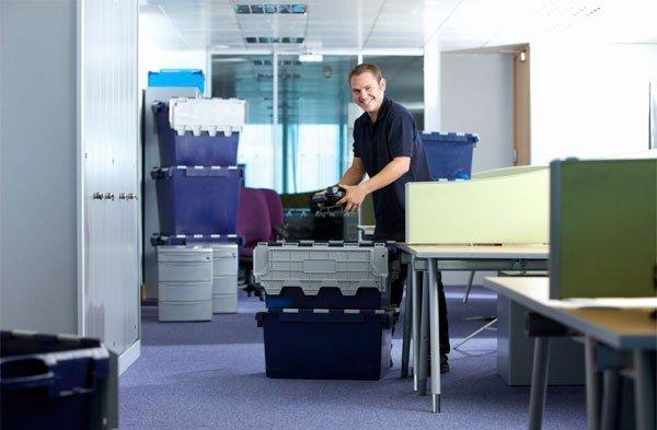 Mudanza de mobiliario de oficina