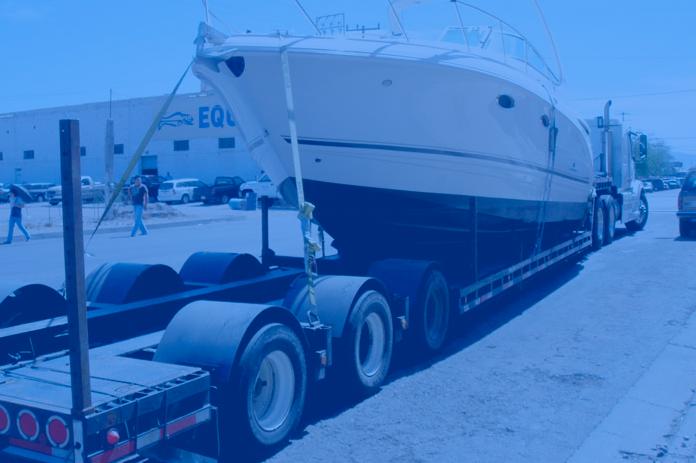 Transporte de barcos por carretera